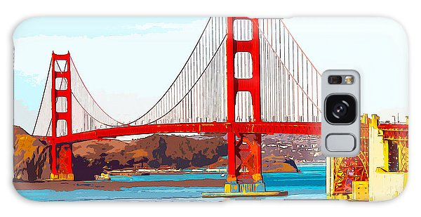 Golden Gate Bridge San Francisco The City By The Bay Galaxy Case