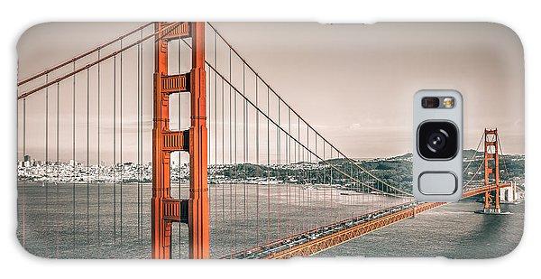 Golden Gate Bridge Selective Color Galaxy Case