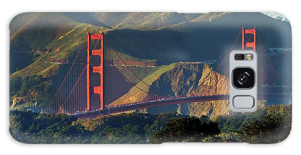 Golden Gate Bridge Galaxy Case by Steven Spak