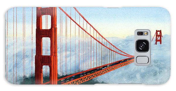 Golden Gate Bridge Sunset Galaxy Case