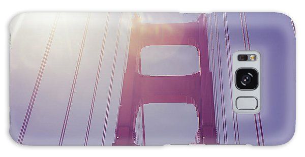 Golden Gate Bridge The Iconic Landmark Of San Francisco Galaxy Case