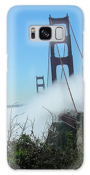 Golden Gate Bridge Towers In The Fog Galaxy Case