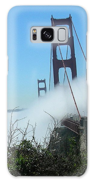 Golden Gate Bridge Towers In The Fog Galaxy Case