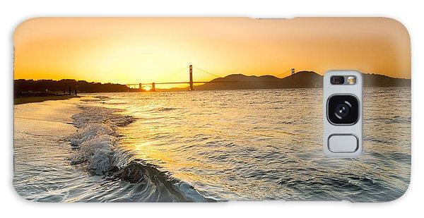 House Galaxy Case - Golden Gate Curl by Sean Davey