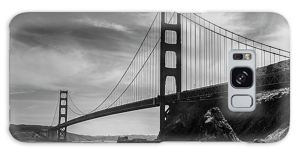 Golden Gate East Bw Galaxy Case
