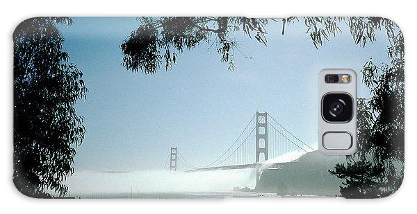 Golden Gate Fog  Galaxy Case