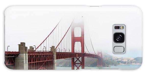 Golden Gate In The Fog Galaxy Case