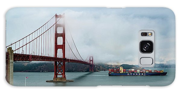 Golden Gate Ship Galaxy Case