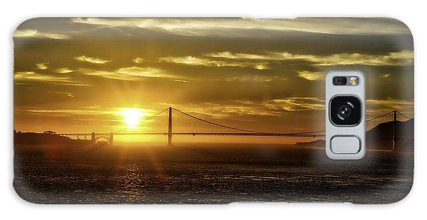 Golden Gate Sunset Galaxy Case