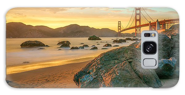 Architecture Galaxy Case - Golden Gate Sunset by James Udall