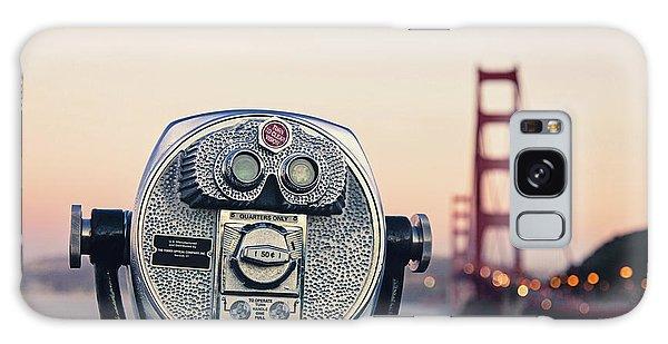 Golden Gate Sunset - San Francisco California Photography Galaxy Case