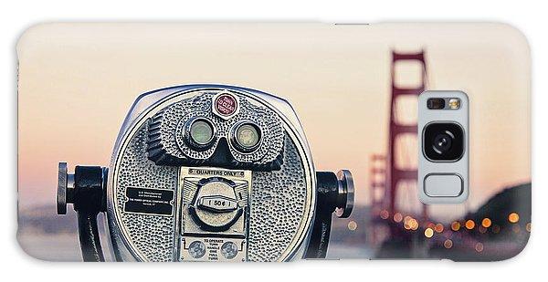 Golden Gate Sunset - San Francisco California Photography Galaxy Case by Melanie Alexandra Price