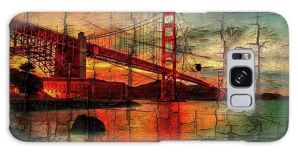 Colours Galaxy Case - Golden Gate Weathered by Az Jackson
