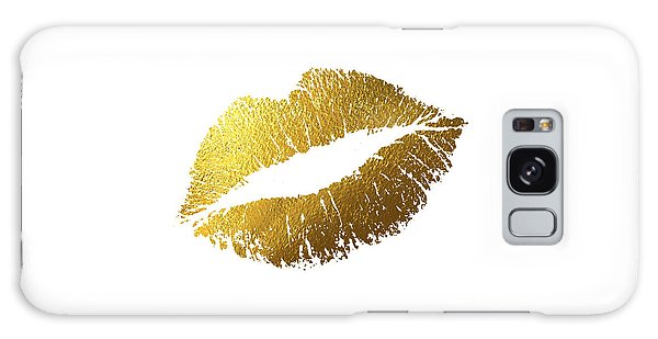Gold Galaxy Case - Gold Lips by BONB Creative