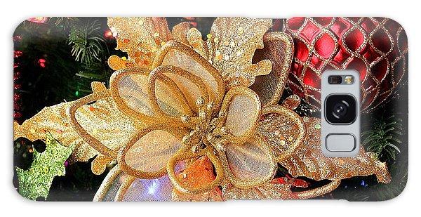 Golden Glitter Christmas Ornaments Galaxy Case