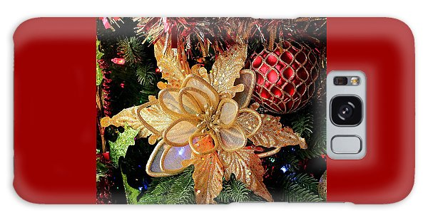 Golden Glitter Christmas Ornaments Galaxy Case