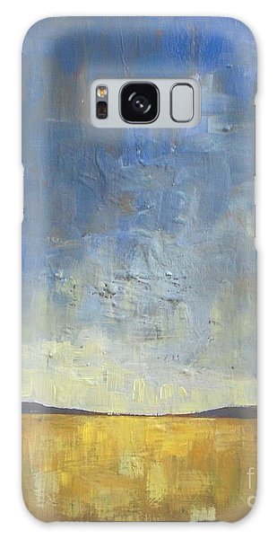 Abstract Landscape Galaxy Case - Golden Glow by Vesna Antic