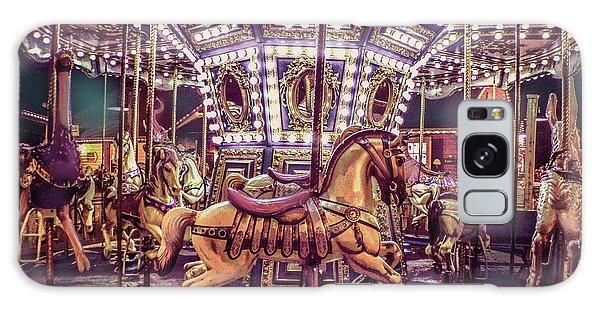Golden Hobby Horse Galaxy Case