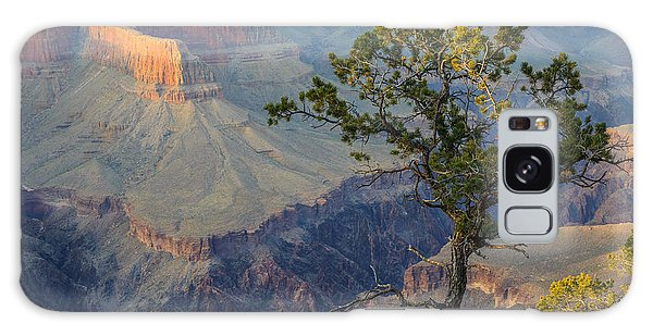 Galaxy Case featuring the photograph Golden Hour At Pima Point by Beverly Parks