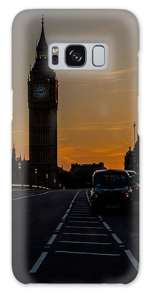 Golden Hour Big Ben In London Galaxy Case