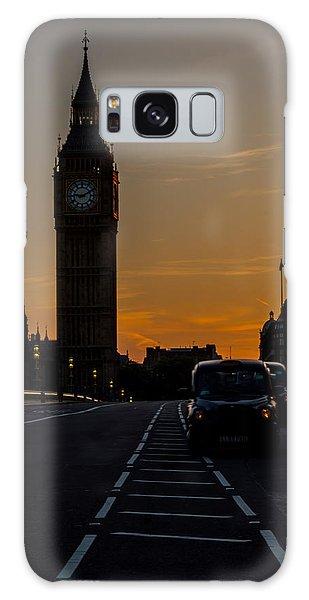 Golden Hour Big Ben In London Galaxy Case