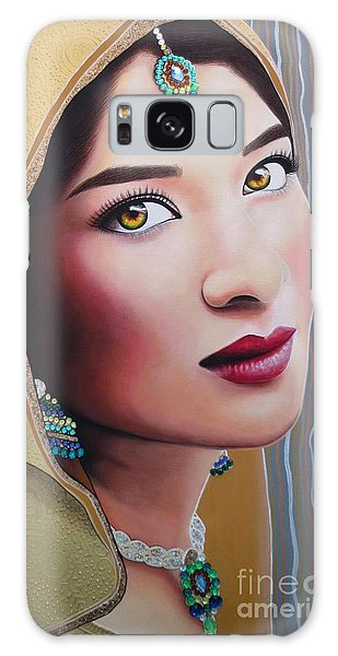 Golden Indian Bride Galaxy Case by Malinda Prudhomme