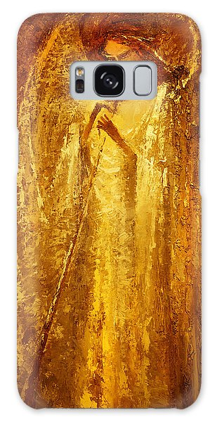 Golden Light Of Angel Galaxy Case