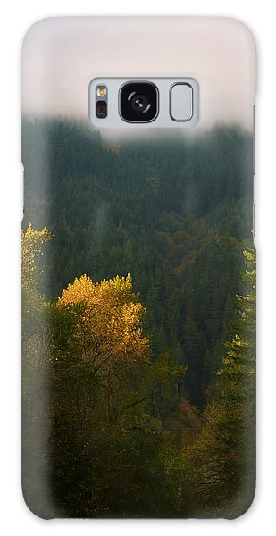Galaxy Case featuring the photograph Golden Light by Priya Ghose