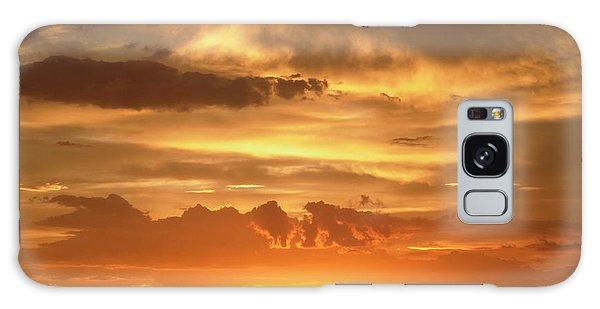 Golden Light Galaxy Case