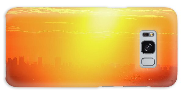 Golden Light Galaxy Case by Tatsuya Atarashi