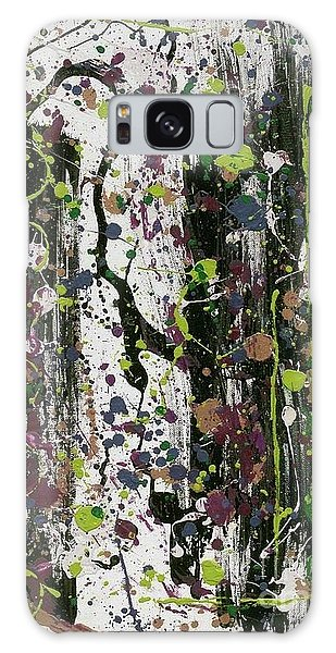 Golden Lime Royal Purple Dreams Galaxy Case by Talisa Hartley