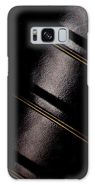 Golden Line Galaxy Case by Paul Job