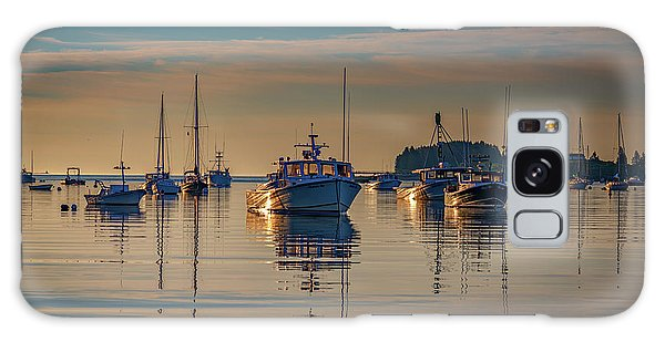 Galaxy Case featuring the photograph Golden Morning In Tenants Harbor by Rick Berk