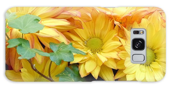 Golden Mums And Ivy Galaxy Case