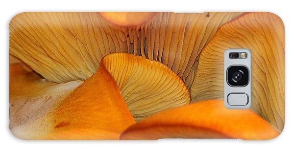 Golden Mushroom Abstract Galaxy Case