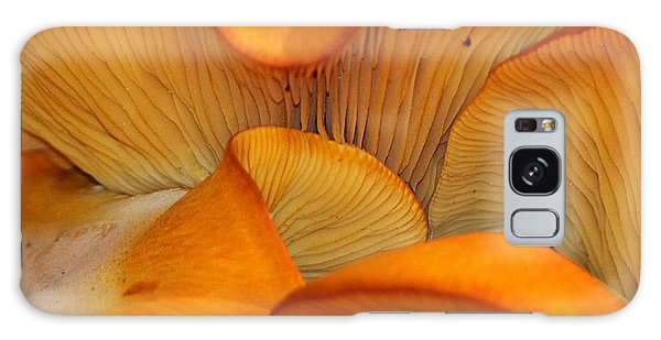 Golden Mushroom Abstract Galaxy Case