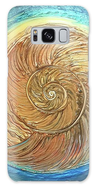Golden Nautilus Galaxy Case
