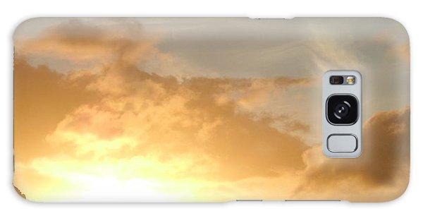 Golden Oahu Sunset Galaxy Case