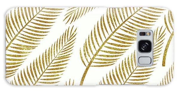Golden Palm Galaxy Case by Uma Gokhale