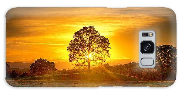 Golden Pastures Galaxy Case