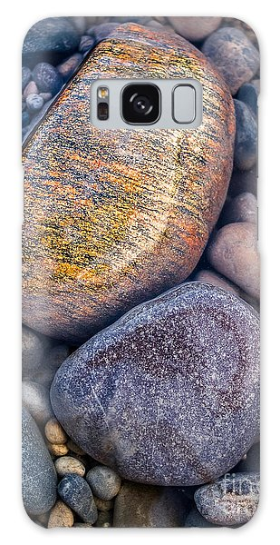 Golden Pebble Galaxy Case by Alexander Kunz