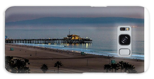 Golden Pier Galaxy Case