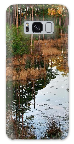 Golden Pond Galaxy Case