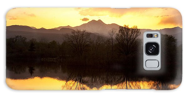 Golden Ponds Longmont Colorado Galaxy Case