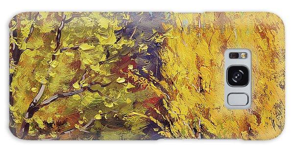 Maple Leaf Art Galaxy Case -  Golden Poplars by Graham Gercken