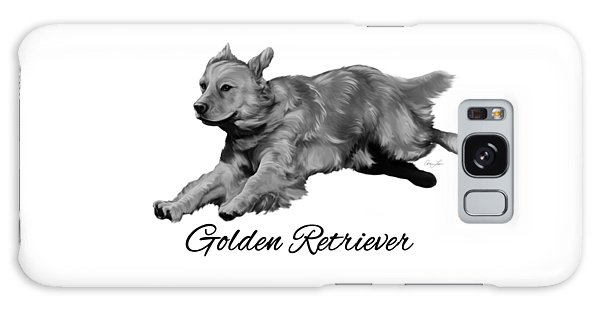 Golden Retriever Galaxy Case