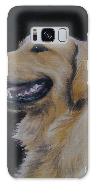 Golden Retriever Nr. 3 Galaxy Case