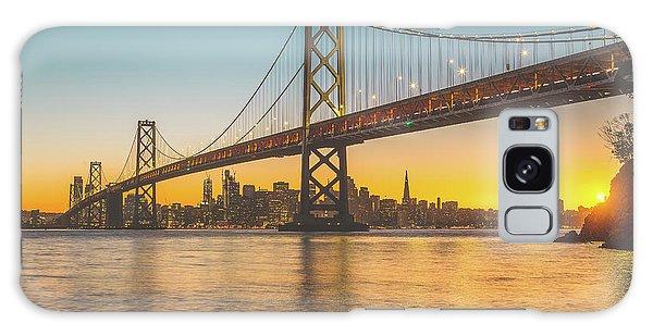 Golden San Francisco Galaxy Case by JR Photography