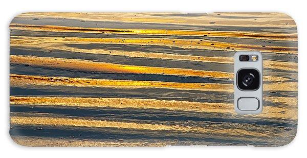 Golden Sand On Beach Galaxy Case