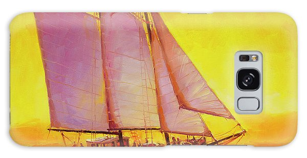 Pacific Ocean Galaxy Case - Golden Sea by Steve Henderson